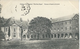 Hardinghen - Château D'Hardinghen  - Villa Bon Repos - Pelouse Et Façade Principale - Francia