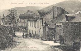 CPA St-Sernin Place Du Fort - Otros Municipios
