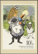The Wind In The Willows, 10½p, 1979 - Royal Mail Stamp Card PHQ 37b - Stamps (pictures)