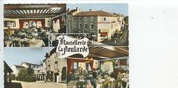 """Saint Montrond Les Bains Hostellerie """"La Poularde"""" Joannès Randoing Chef De Cuisine (multivues Cp Vierge) - Autres Communes"""