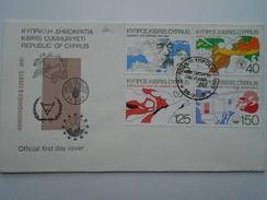 X130.22  CYPRUS  FDC FAO 1981 - Chypre
