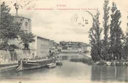 Castelnaudary . Passerelle Cibelle Et Vieux Moulin . - Castelnaudary