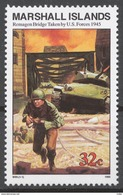 Marshall Islands 1995 Mi# 569** WW2, REMAGEN BRIDGE TAKEN BY US FORCES - Marshall