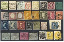 «¤r Antichi Stati Italiani - Collezione Avanzata Montata Su Album Marini Con Alto Valore Di Catalogo. Molte Firme E Qual - Stamps