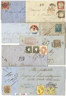 *y Antichi Stati Italiani - 21 Lettere Con Varie Affr. Di Buon Aspetto. Qualità Generalmente Buona O Piccoli Difetti. Va - Unclassified