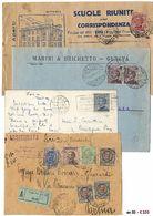 *y Regno - Michetti - Inizio Di Collezione Di Affr. Singole, Multiple E Con Altre Emissioni. Notato 60 C. Azzurro Per L' - Stamps