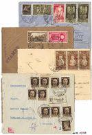 * Regno/R.S.I/Repubblica - Oltre 200 Lettere Su Grande Portafotografie. Interessanti Presenze E Tariffe. - Stamps