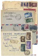 * Repubblica/Regno/Trieste/ Qualcosa Di Estero - Alcuni Primi Voli - Oltre 80 Documenti Con Molte Buone Presenze Su Racc - Unclassified