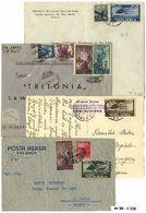 * Repubblica - 64 Lett./cart. Per L'estero, Prevalentemente Del Periodo Ruota. Qualità Mista, Da Esaminare. - Stamps