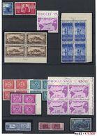 «« Repubblica - Collezione Completa Dal 1945 Al 2000 Con Varie Ripetizioni, Anche Di Valori Pregiati Costituita Per Inve - Stamps