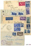 * Repubblica Commemorativi - Oltre 70 Lett./cart. Con Affr. Prevalentemente Del Periodo Ruota. - Stamps