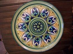 PIATTO IN CERAMICA Del  1920 - Céramiques