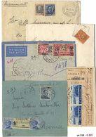 *y Colonie Italiane - 84 Lett./cart./frontespizi Con Varie Affr Ed Ann. Anche Non Comuni. Qualità Mista, Da Esaminare. - Stamps