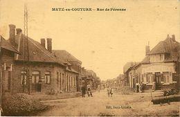 62: Metz En Couture : Rue De Peronne - France