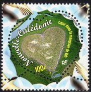 """Nle-Caledonie YT 818 """" Coeur """" 2000 Neuf** - New Caledonia"""