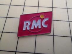 Pin611c Pin's Pins / Beau Et Rare / MEDIAS :  STATION DE RADIO RMC RADIO MONTE-CARLO - Medias