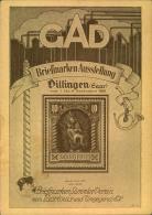 1928, Seltene Privatganzsachenkarte Zur Briefmarken-Ausstellung Im Rahmen Der Gewerbe-Ausstellung In Dillingen Mit Sonde - Sin Clasificación