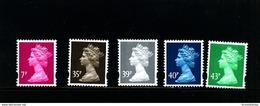 GREAT BRITAIN - 2004  MACHIN  SET  MINT NH - 1952-.... (Elisabetta II)