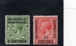 MAROC 1914 * - Bureaux Au Maroc / Tanger (...-1958)