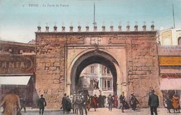 Afrique Tunisie TUNIS La Porte De France   *PRIX FIXE - Tunisie