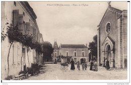 """PALLUAUD - Place De L""""Eglise - France"""