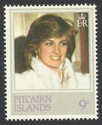 Pitcairn Islands, 9 C. 1982, Sc # 214, Mi # 219, MNH - Timbres