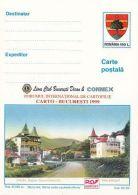 ORGANIZATIONS, LIONS CLUB, SOVATA HEALTH RESORT VIEW, PC STATIONERY, ENTIER POSTAL, 1999, ROMANIA - Rotary, Lions Club
