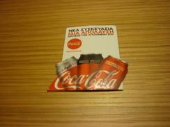 Coca Cola Greek Fridge Magnet From Greece - Magnets