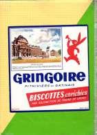 Buvard & Blotting Paper : BISCOTTE GRINGOIRE  L'Ecole Militaire - Zwieback