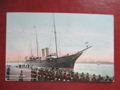 CPA  ROYAUME UNI PORTSMOUTH VICTORIA ET ALBERT AT LANDING JETTY - Portsmouth