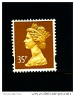 GREAT BRITAIN - 1993  MACHIN  35p.  LITHO  2B  MINT NH  SG Y1778 - 1952-.... (Elizabeth II)