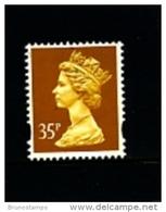 GREAT BRITAIN - 1993  MACHIN  35p.  LITHO  2B  MINT NH  SG Y1778 - Machins