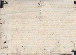 BE633 CUBA SPAIN ESPAÑA 1754 AUTOGRAPH BISHOP MORELL DE SANTA CRUZ DOC SIGNED DOC. - Autographs