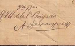 BE636 CUBA SPAIN ESPAÑA INDEPENDENCE WAR 1898 SIGNED CORONEL DESPAIGNE. PRESIDENT OF CUBAN REPUBLIC IN 1934 - Autographs