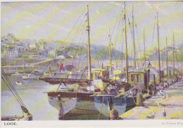 Postcard - Art - Vernon Ward - Looe - VG - Cartoline