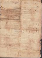 BE641 CUBA SPAIN ESPAÑA INDEPENDENCE WAR 1899 LICENCE DOCS  MAMBI ARMY - Autographs