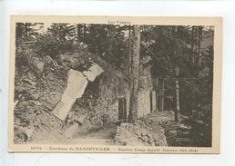 Les Vosges Environs De Badonviller - Ancien Camp Jacobi (guerre 1914/1918) Les Vosges (cp Vierge) - France
