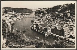 East And West Looe, Cornwall, C.1950s - Valentine's RP Postcard - England