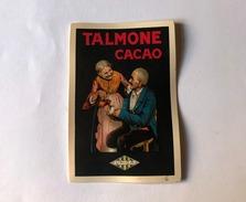 Calendarietto Barbiere Talmone Cacao Unica 1930 - Non Classificati
