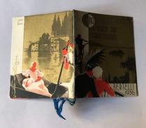 Calendarietto Barbiere Luna Di Miele Sui Laghi Italiani Bertelli 1936 - Calendari
