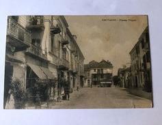 Cartolina Piazza Tripoli Chivasso Viaggiata 1914 - Non Classificati