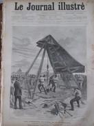 Document 1886 PARIS Premiers Travaux De L Exposition Au  Champ De Mars    Paris - Vieux Papiers