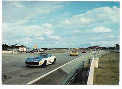 Cpm 7212516 Le Mans Sortie Du Nouveau Tronçon De Maison Blanche Tampon 24h Mans 1974 - Le Mans