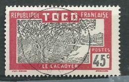 Yvert N°135 Oblitéré   - Abc 24334 - Togo (1914-1960)