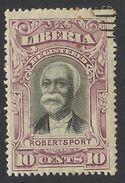 Liberia, 10 C. 1903, Sc # F14, Mi # 81, Used. - Liberia