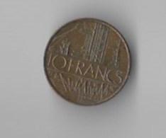 Piece 10 Francs De 1987 - France