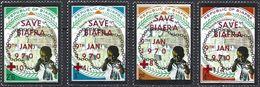 Biafra 1970 - 2nd Anniv. Independance - Overprinted Red-Cross ( Mi 50/53 - YT Xxx ) MNH** Complete Series - Nigeria (1961-...)