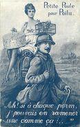 Guerre 1914-18 -ref L775- Illustrateurs - Illustrateur - Edit Sid Paris - Petite Poule Pour Poilu  - - War 1914-18