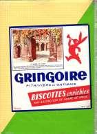 Buvard & Blotting Paper : BISCOTTE GRINGOIRE Enrichies Le Musée De Cluny - Zwieback