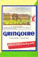 Buvard & Blotting Paper : BISCOTTE GRINGOIRE Haute Qualité 62 Hotel Des Invalides - Zwieback